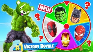 SUPERHELDEN GLÜCKSRAD Modus in Fortnite: Battle Royale!