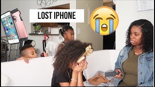 London LOST her New iPhone Prank (she cries)