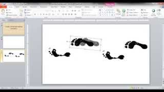 Create a Walking Footstep Animation