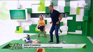 Inter perde e Denilson dança para irritar Renata Fan