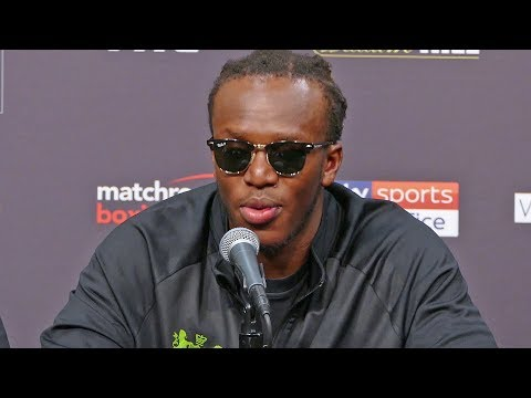 KSI - FULL POST FIGHT PRESS CONFERENCE vs. Logan Paul | DAZN Boxing
