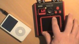 Mini-Kaoss Touchpad Effects Processor