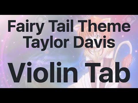 Learn Fairy Tail Theme Taylor Davis On Violin - How To Play Tutorial