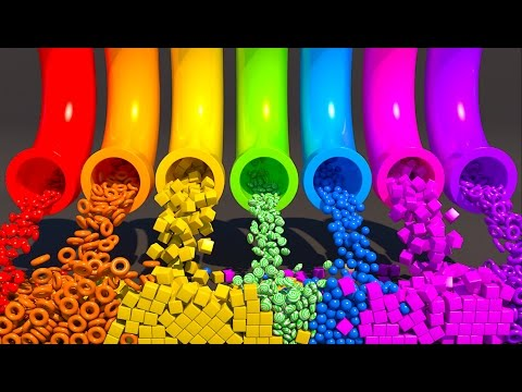 Thumbnail: A lot of 3D Candy. Learning Colors for kids