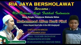 USTADZ. RIDWAN ASYFI & FATIHAH INDONESIA|| DAVIN AUDIO #fullAlbum