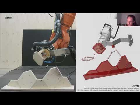 AECH Online v1.1: Lauren Vasey - Towards Adaptive & Autonomous Robotic Fabrication