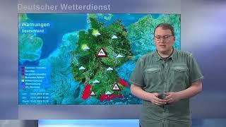 13.01.2019 Unwetterwarnung - Deutscher Wetterdienst (DWD)