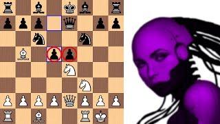 Deep Sacrifice in the Schliemann | Leela Chess Zero ID 467 vs Stockfish 6