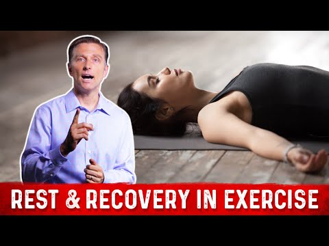 How Much Rest & Recovery Do We Need After Workout? Dr.Berg on Exercise