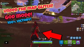 Fortnite Glitches Season 4 (100% victory) God mode under the map PS4/Xbox one 2018