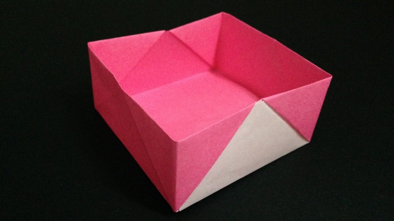 origami box instructions youtube. Black Bedroom Furniture Sets. Home Design Ideas