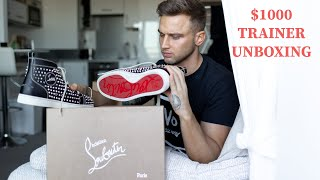 Christian Louboutin $1000 Trainer Unboxing | Mens Fashion