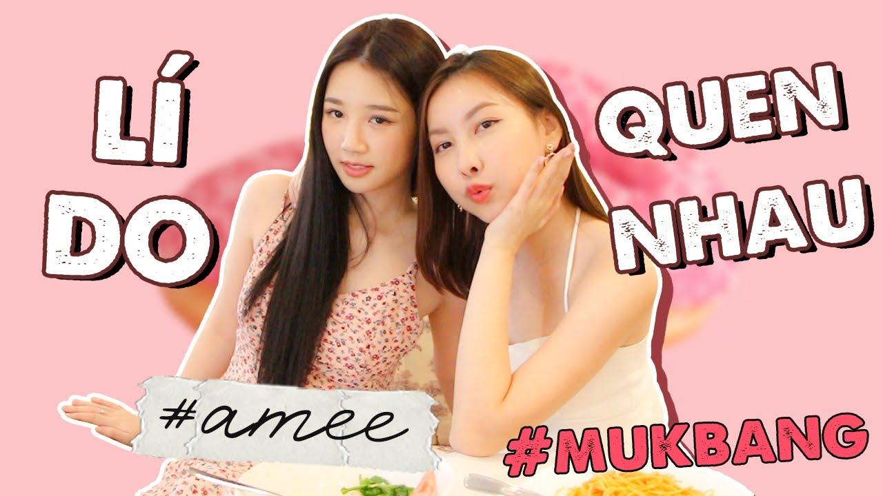 MUKBANG Q&A ft. AMEE   TIEN LE
