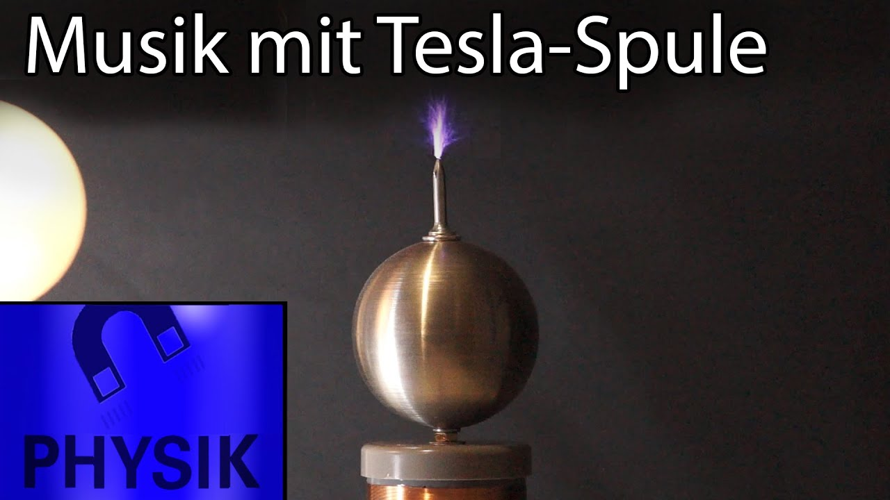 electro musik mit einer tesla spule youtube. Black Bedroom Furniture Sets. Home Design Ideas