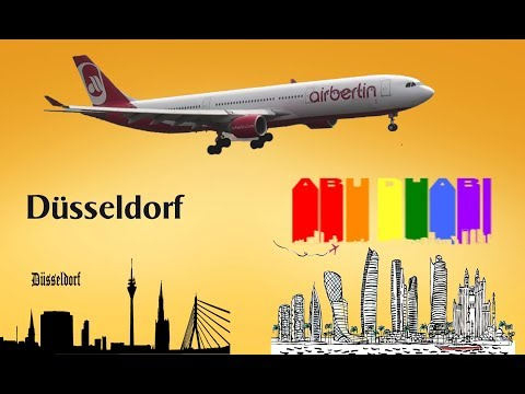 FSX Air Berlin Airbus A330 200 Dusseldorf to AbuDhabi Part 2