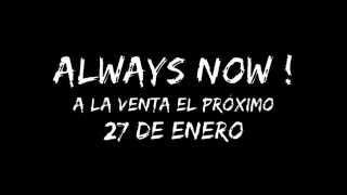 """""""ALWAYS NOW!"""" NUEVO DISCO DE THE REBELS 27 DE ENERO"""