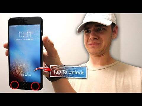 UNLOCK ANY IPHONE WITH A SECRET BUTTON! *IOS 11 SECRET*