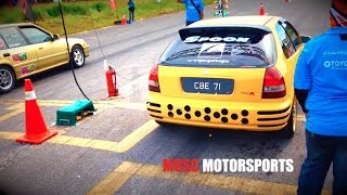 MALAYSIAN DRAG RACING 2013  - VTEC PRO STREET - MIRI, SARAWAK