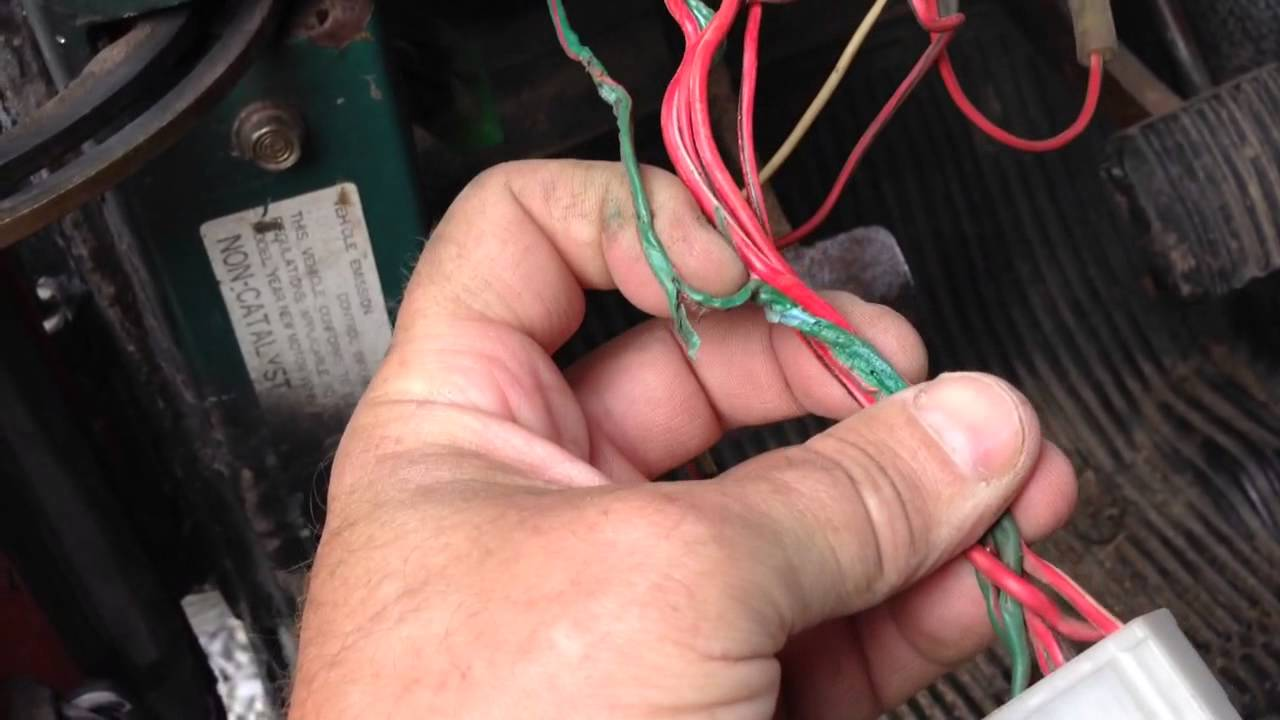the dans fj40 100 light switch rebuilt next deal with the wiring  [ 1280 x 720 Pixel ]