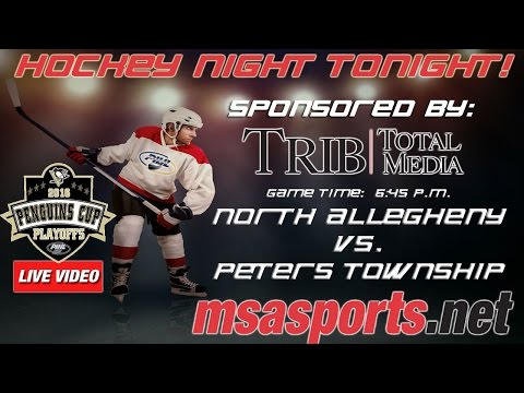 "MSA Sports / PIHL ""Spotlight"" Game:  North Allegheny vs. Peters Township  3-9-16"