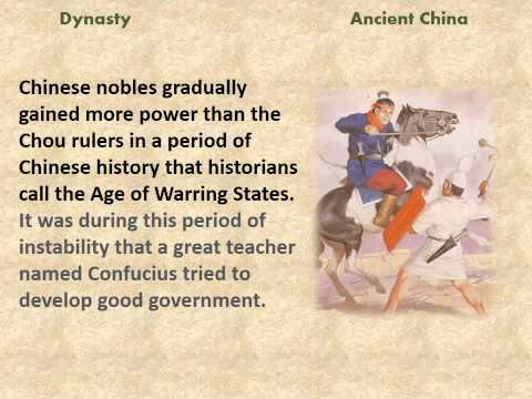 Chinese Dynasties - a reading lesson for kids
