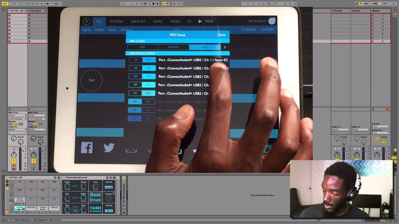 Playing with Patterning: Drum Machine iPad App w/ Josh Spoon
