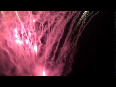 Major fireworks display at Cisco Live 2012 at San Diego Padres Stadium