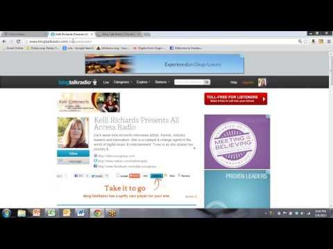 BlogTalkRadio Podcast Training by NYC Social Media Strategist Mary Agnes Antonopoulos