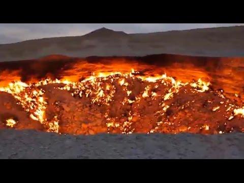 地獄 之 門 トルクメニスタン
