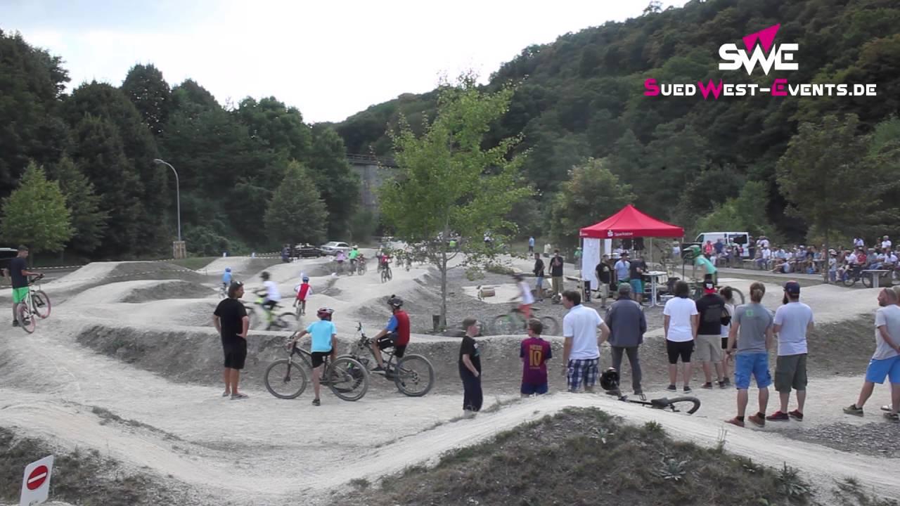 Bikepark Eroffnung Im Gewerbegebiet Nahetal Nahbollenbach Youtube
