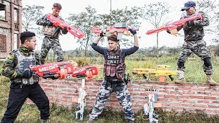 Nerf Guns War : Super Police Of Ttnerf Team Special Attack Boss Xx Criminal Steal The Arsenal 2
