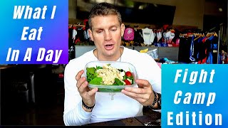 WHAT I EAT IN A DAY – FIGHT CAMP EDITION | Stephen Wonderboy Thompson