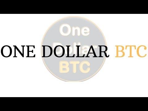 one dollar btc login