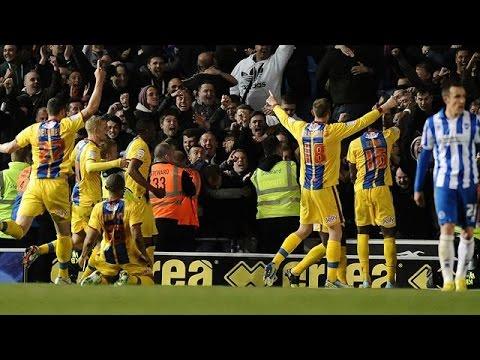 Brighton v Crystal Palace (1-3) Zaha Goal - 27/9/11