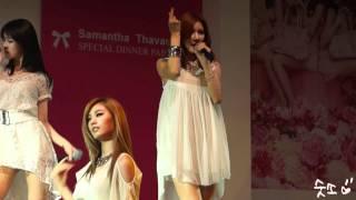 2012년 5월 19일 at Samantha Thavasa special dinner party 롯데호텔에...