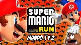 COMENZAMOS LA AVENTURA DE MÓVIL! SUPER MARIO RUN ( Mundo 1 y 2 )