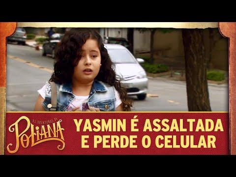 Yasmin é assaltada e perde o celular | As Aventuras de Poliana