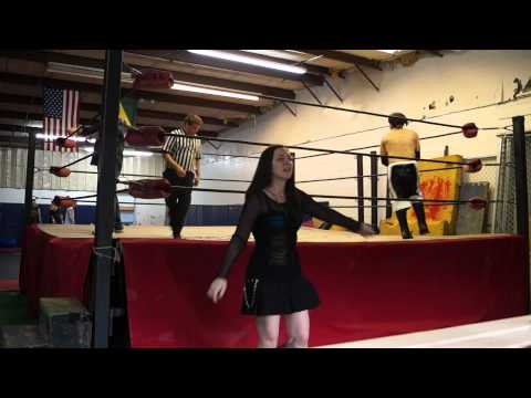 Xac Vengence with Luna Storm vs Tough Jim Steel (8/11/13)