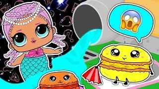 LOL DOLL SURFING AFTER SCHOOL   LOL Surprise!   NEW EPISODES   Kids Cartoon   Cartoons for Children