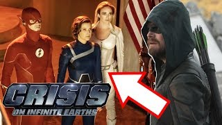 Crisis on Infinite Earths Promo Images Breakdown! - The Destruction of Earth-38!