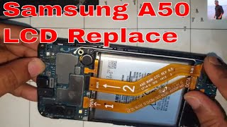 How to Samsung Galaxy A50 (SM A505FM) LCD Replacement