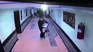 بالفيديو.. خطف طفلة بعد ساعات من ولادتها في العراق
