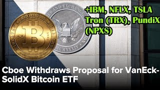BITCOIN ETF no more? IBM stock analysis. Crypto/stock market update. Bitcoin analysis.