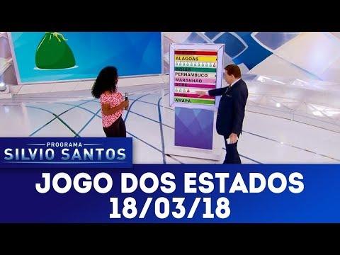 Jogo dos Estados | Programa Silvio Santos (18/03/18)