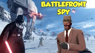 The Battlefront Spy! Return Of Turkey Man, Backstabbing Stormtroopers! Star Wars Battlefront.