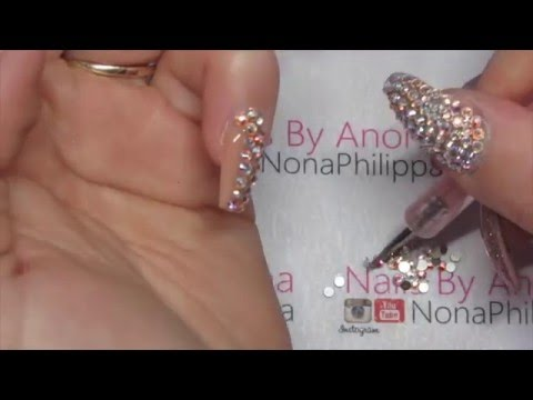 How To Do Swarovski Crystal Nails