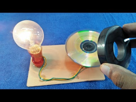 Free Energy Power Generator Magnet With Motor And Cd Flat Output 230 Volt Free Electricity