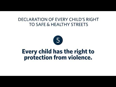 #EveryLife 5: Every child has the right to protection from violence