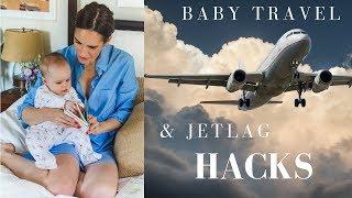 Baby Travel & Jet Lag Hacks!
