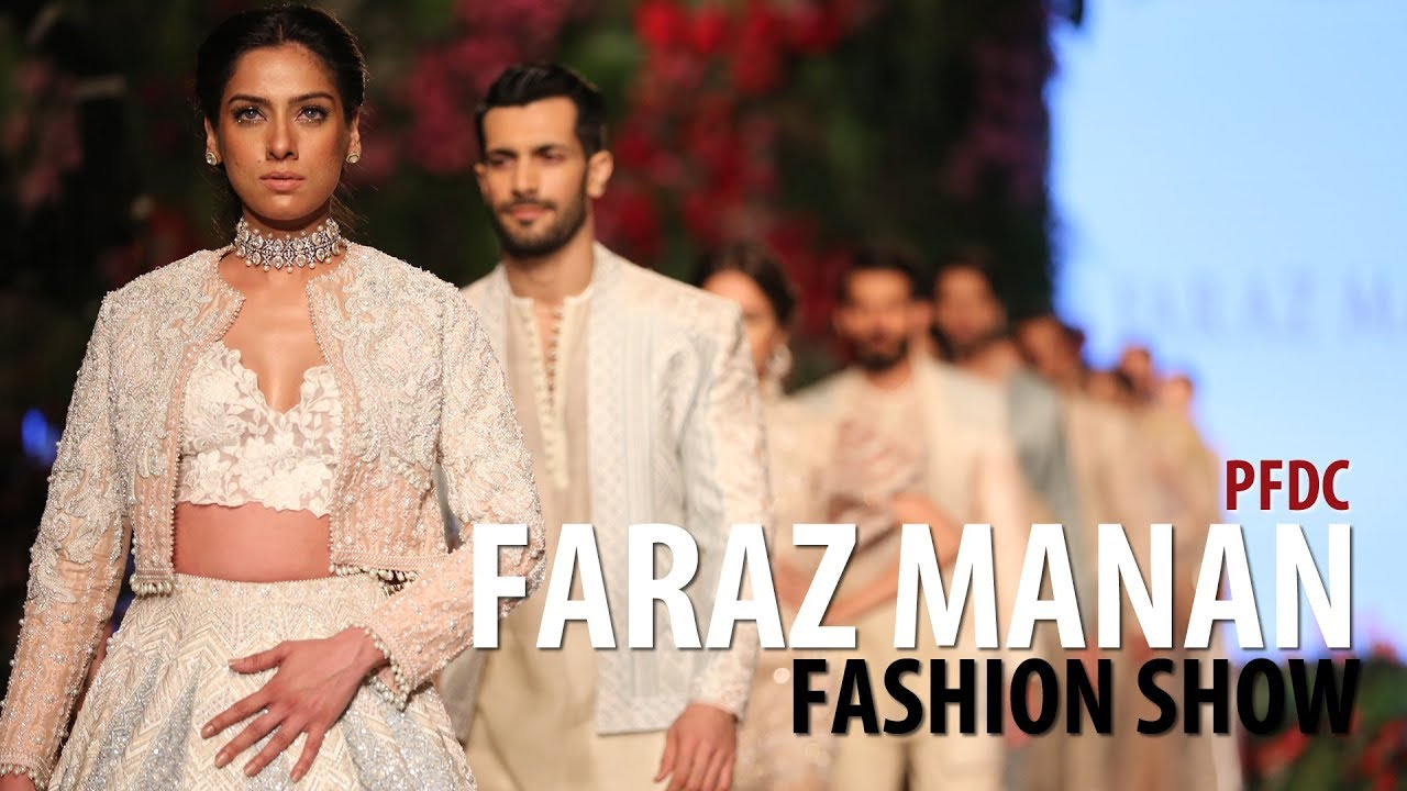 Fashion Show: Faraz Manan Bridal Collection at PFDC 2018 | Pakistani  Fashion Designer